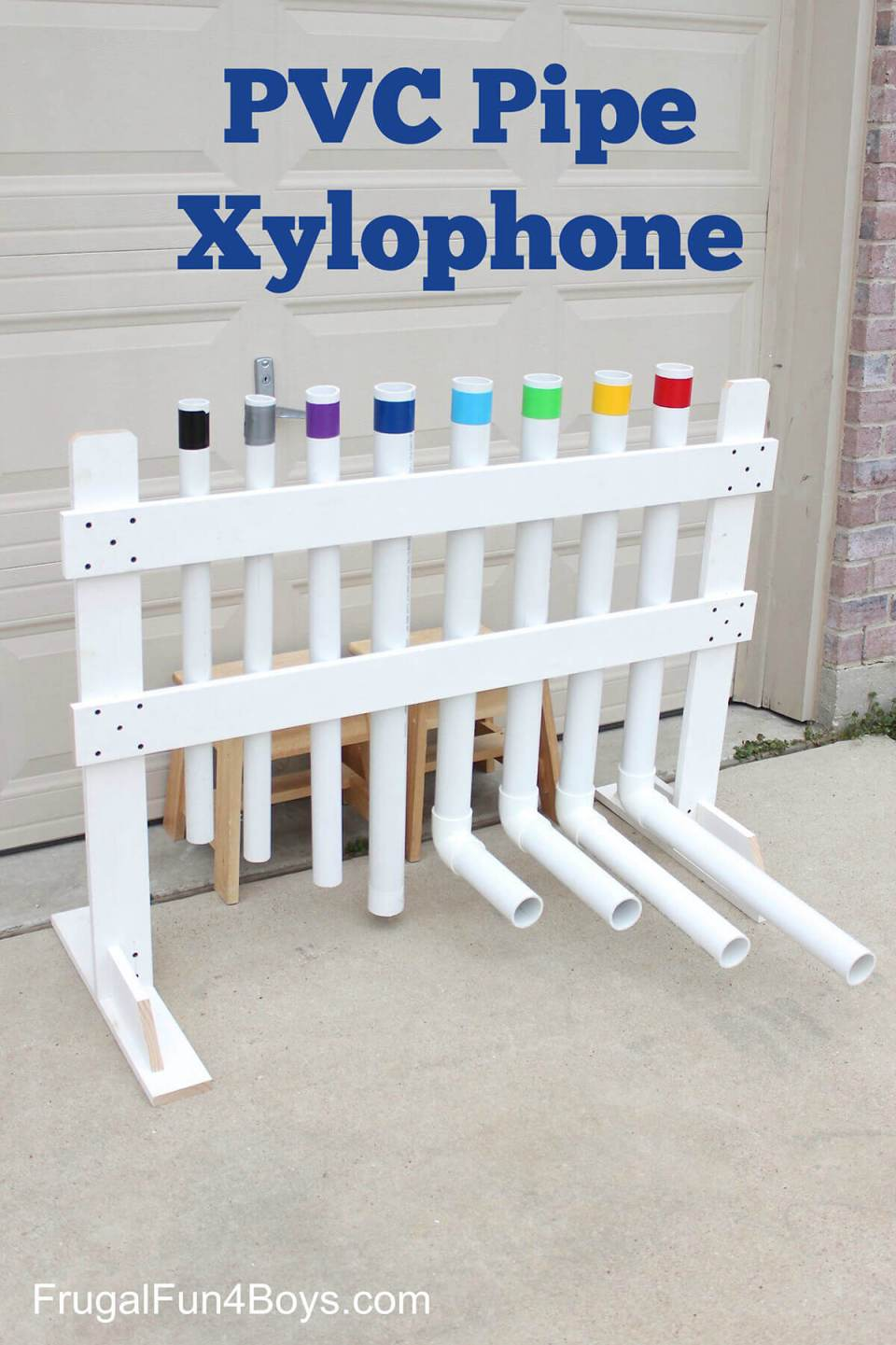 DIY Pipe Xylophone for Young Musicians
