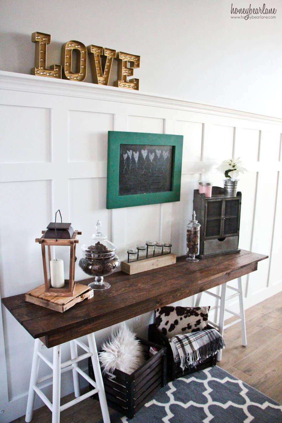Create a Table with Reclaimed Wood