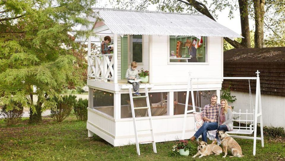 Build a Backyard Playhouse