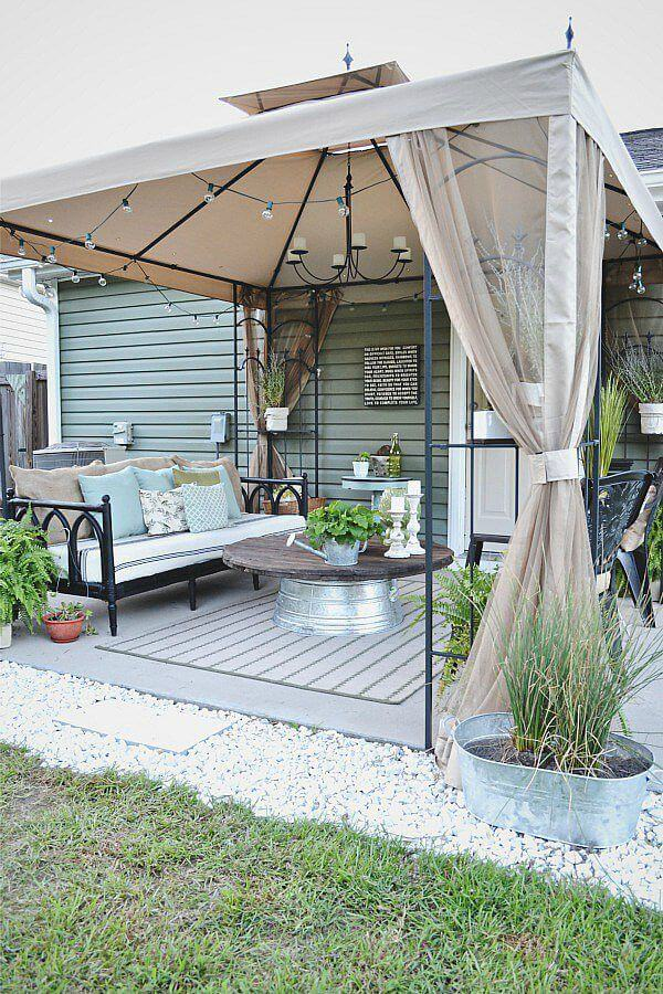 Create an Outdoor Lounge