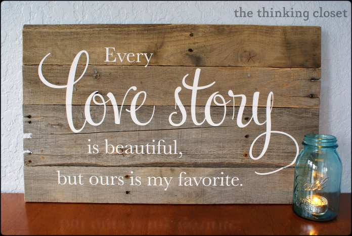 My Favorite Love Story Accessory