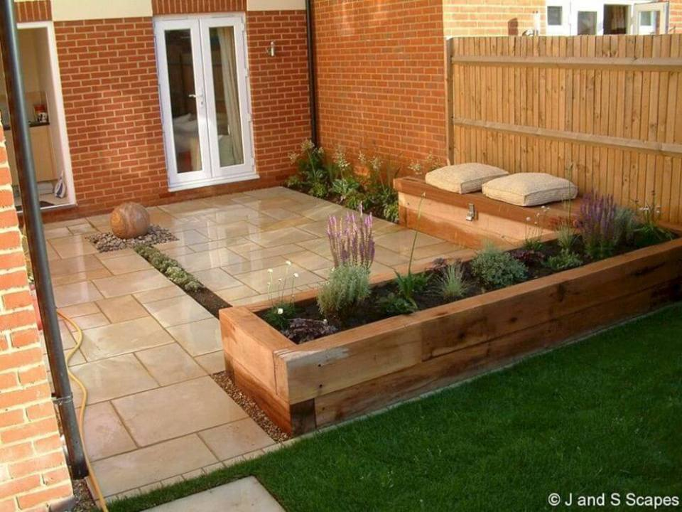 91+ Small Patio Decorating Ideas on a Budget - FarmFoodFamily on Garden Design Ideas On A Budget  id=57139