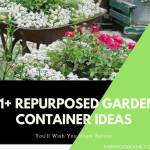 31+ Creative Repurposed Garden Container Ideas on a Budget