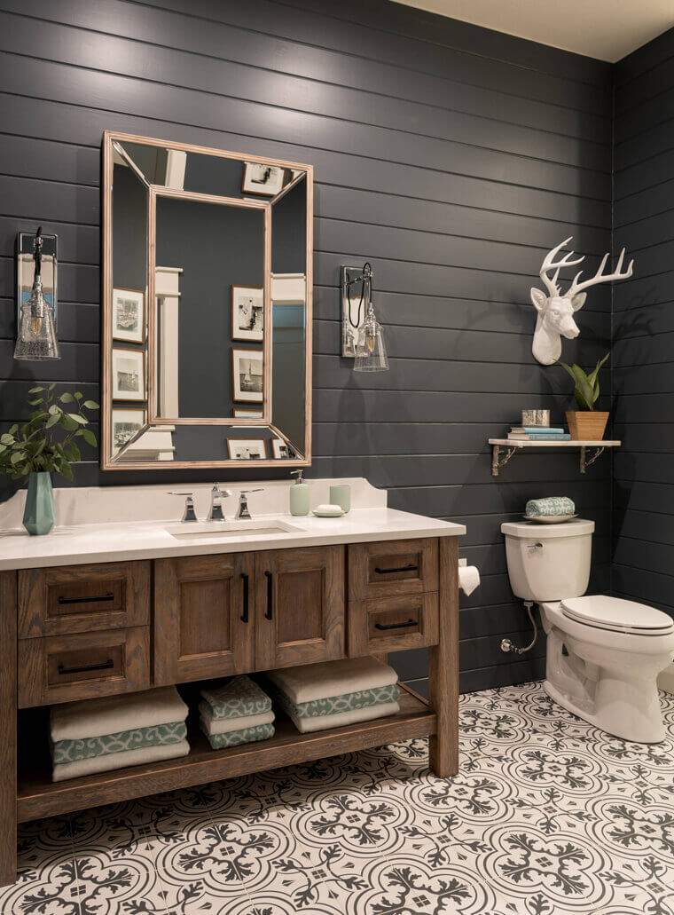 31 Impressive Diy Rustic Farmhouse Bathroom Vanity Ideas