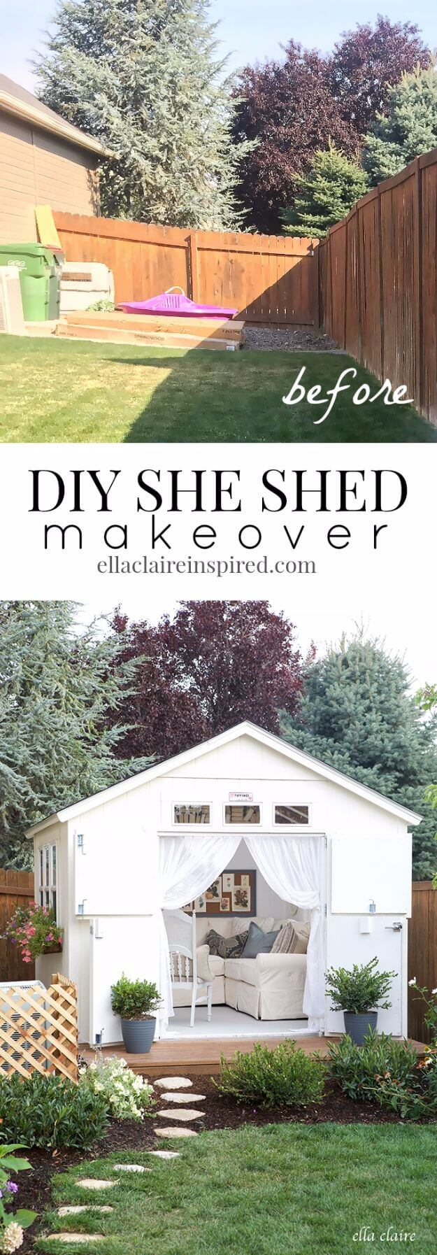DIY SHE Shed Makeover