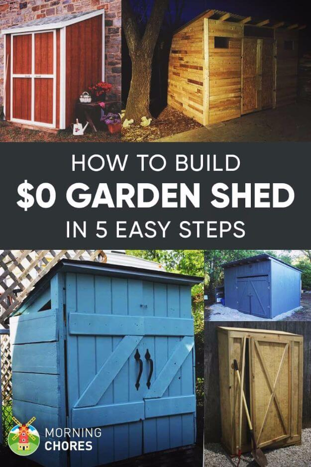 $0 Garden Shed