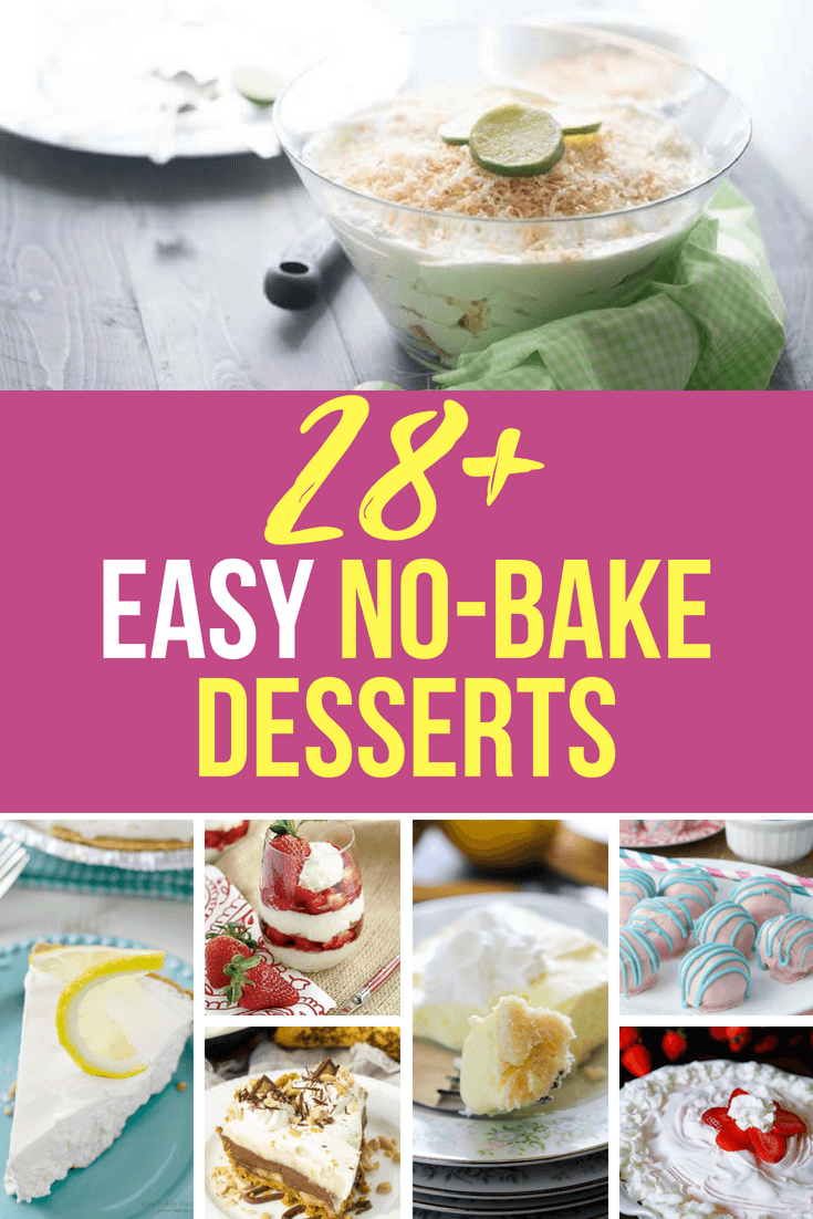 In this article you'll find amazing no-bake dessert recipes for all of these from some of the best food bloggers, but there's one more no bake dessert that is the top of my list. Winter, spring, summer or fall, my dessert of choice never needs you to turn on the oven.