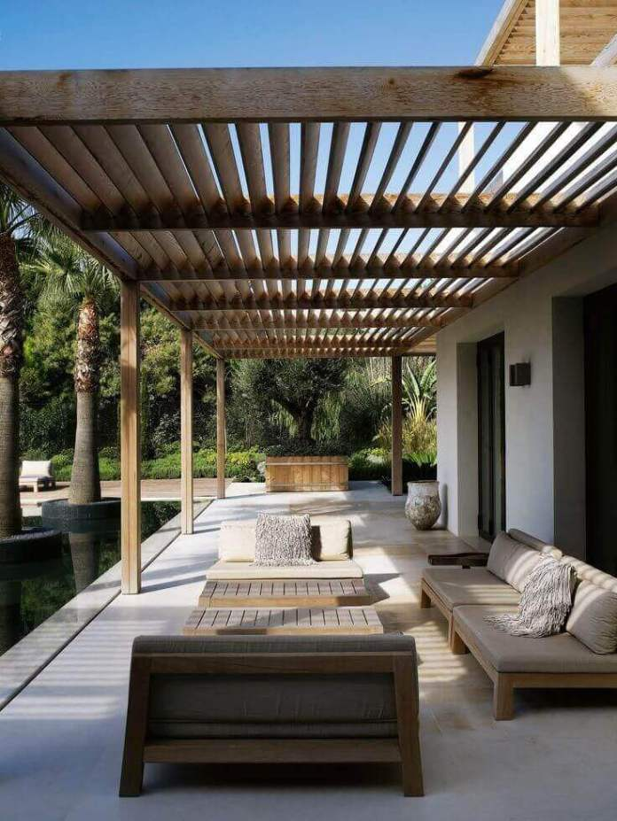DIY Pergola Ideas: Bali Blinds Slatted Pergola