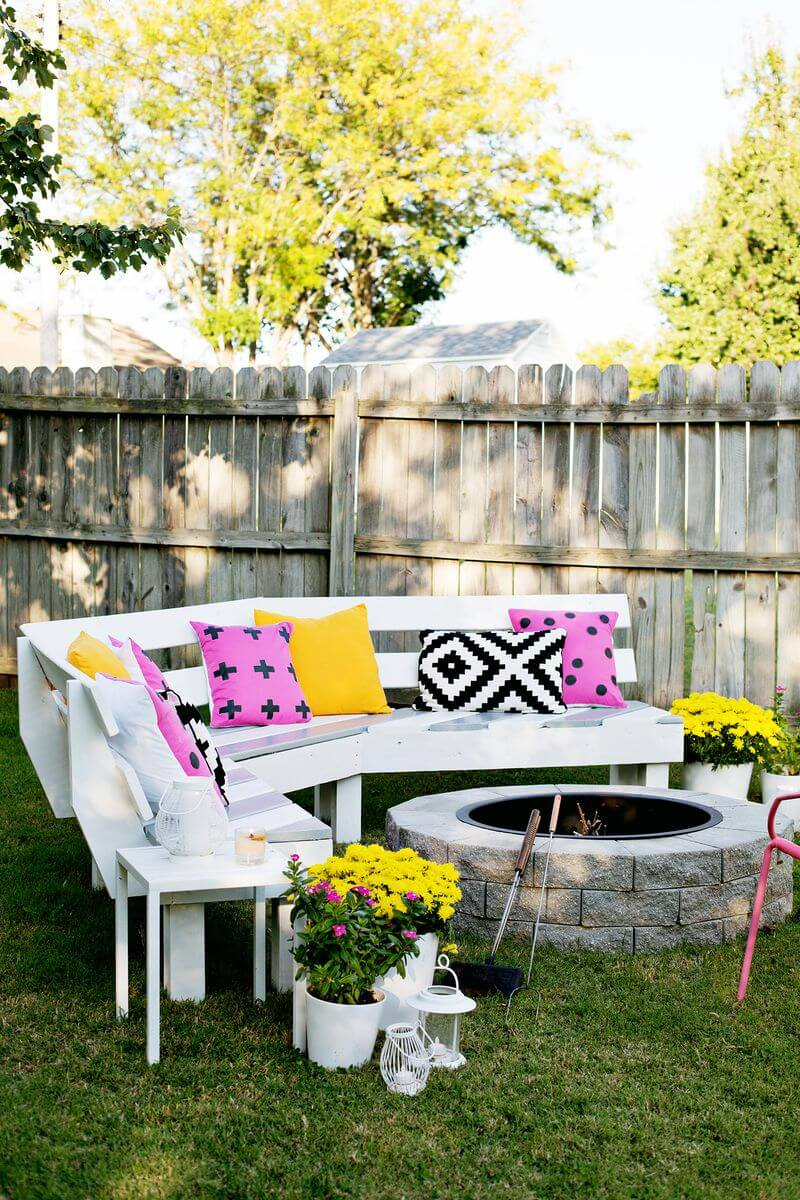 DIY Outdoor Furniture Projects: Rocky Mountain Fireside Bench