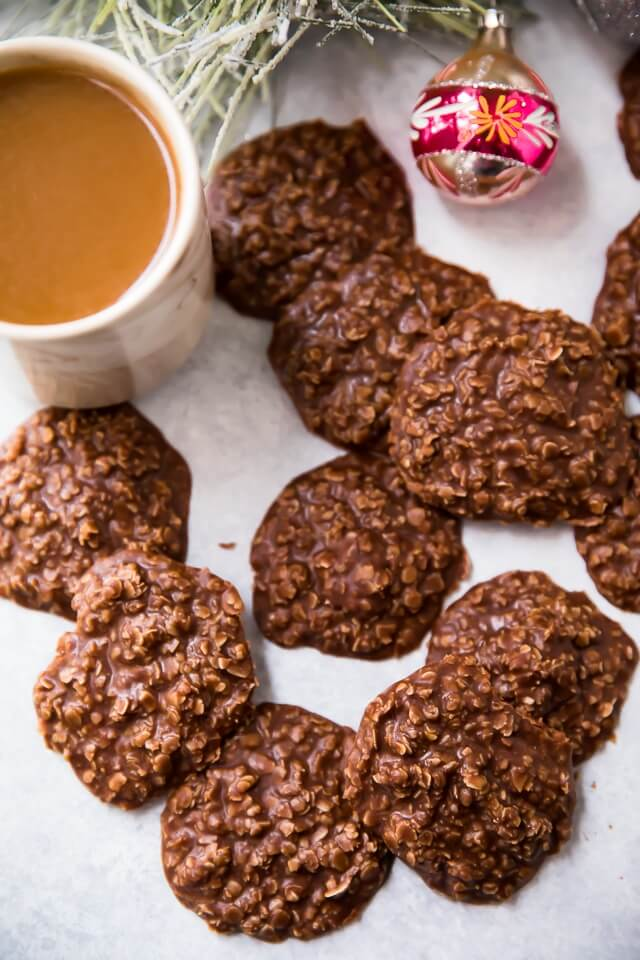 The Best Old Fashioned Chocolate Peanut Butter No Bake Cookies