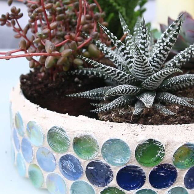 Make Your Own Mosaic Planter