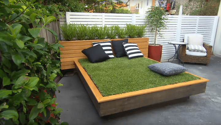 DIY Outdoor Furniture Projects: Bed Of Grass Outdoor Billet