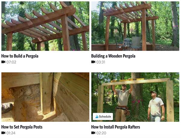 DIY Pergola Ideas: The 7-Minute Pergola