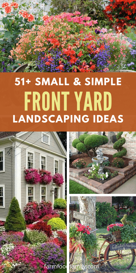 51 Small Simple Front Yard Landscaping Ideas For Your Garden