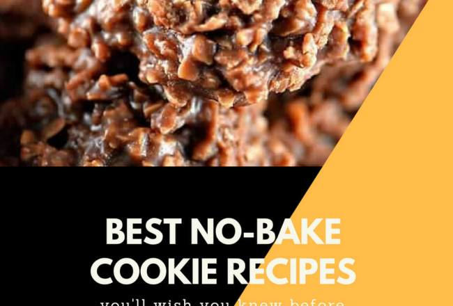 15 Best No-Bake Cookie...