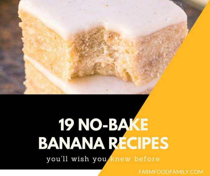 19 No Bake Banana Recipes