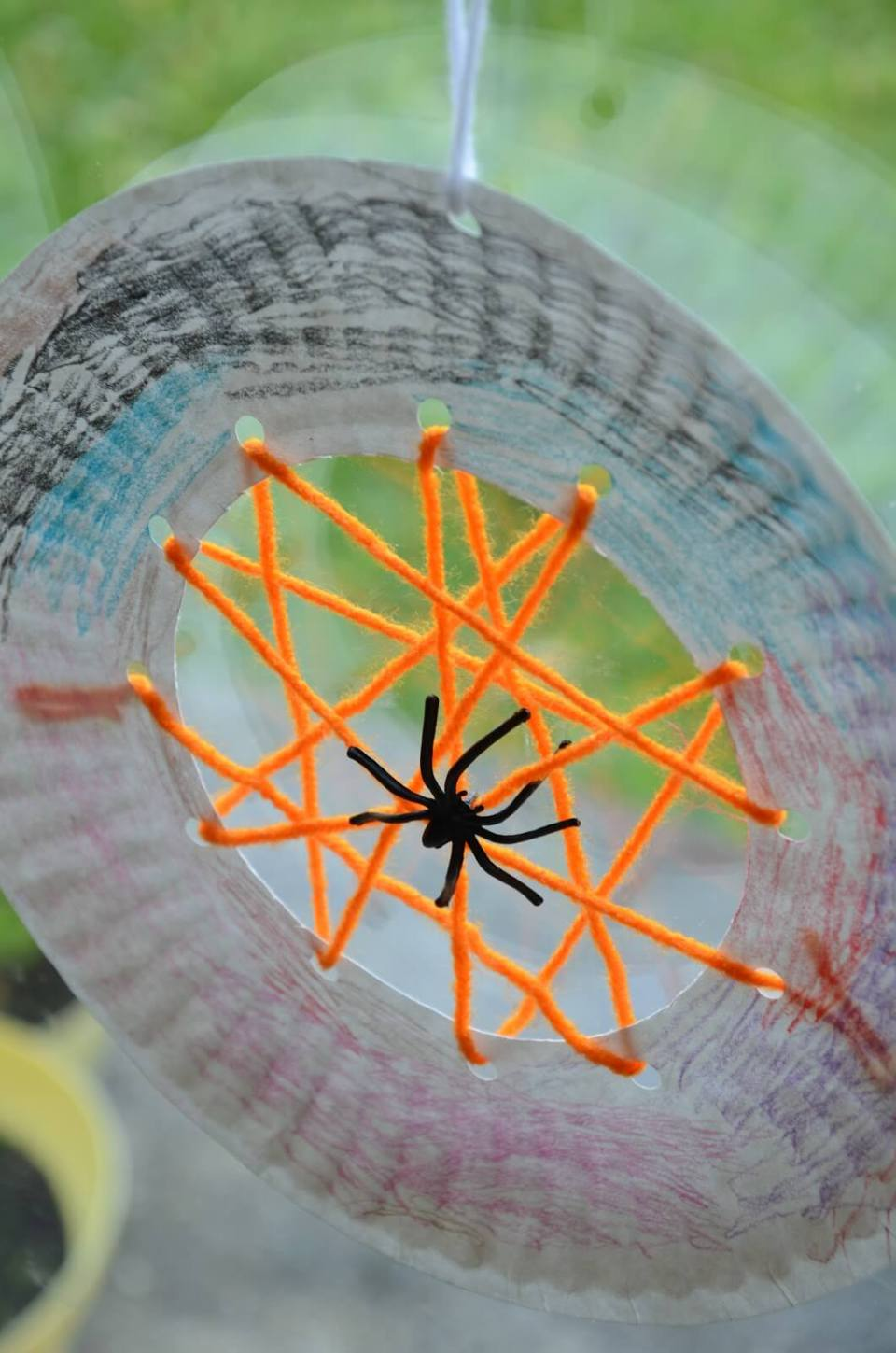 Paper Plate Spider Web Activity | Fun & Creative DIY Halloween Crafts for Kids