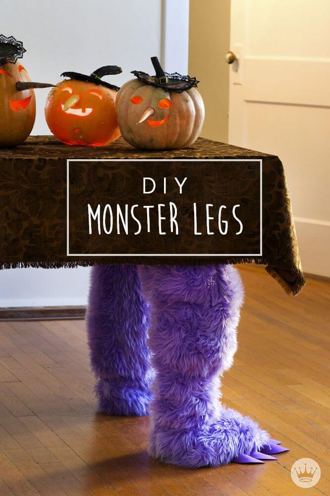 The Working Monster | Awesome DIY Halloween Party Decor | BHG Halloween