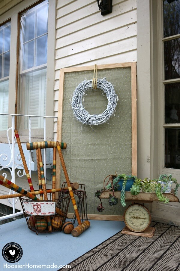 All Fun and Games Corner Collection | Vintage Porch Decor Ideas