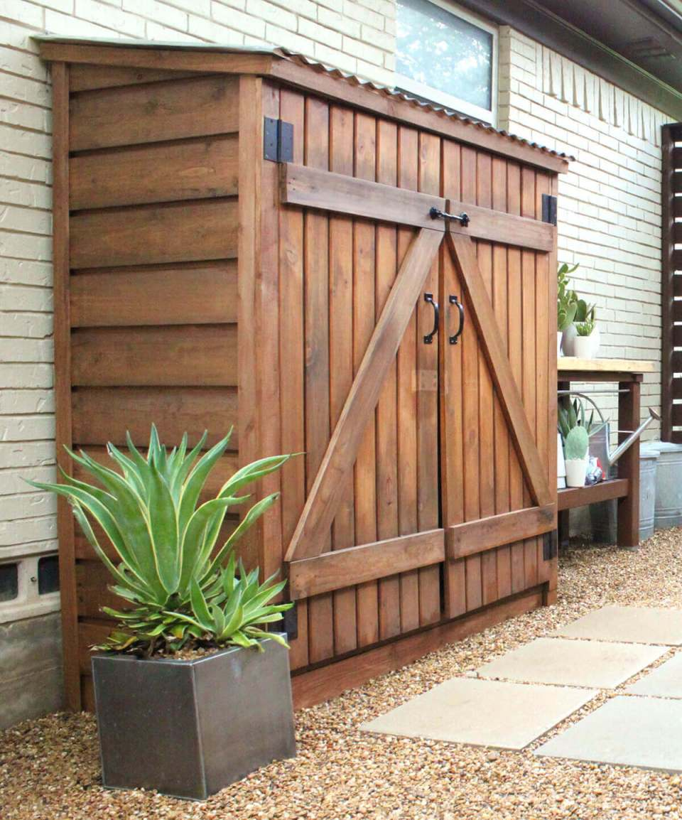 Garden Sheds Can Be Things of Backyard Beauty | Outdoor Eyesore Hiding Ideas