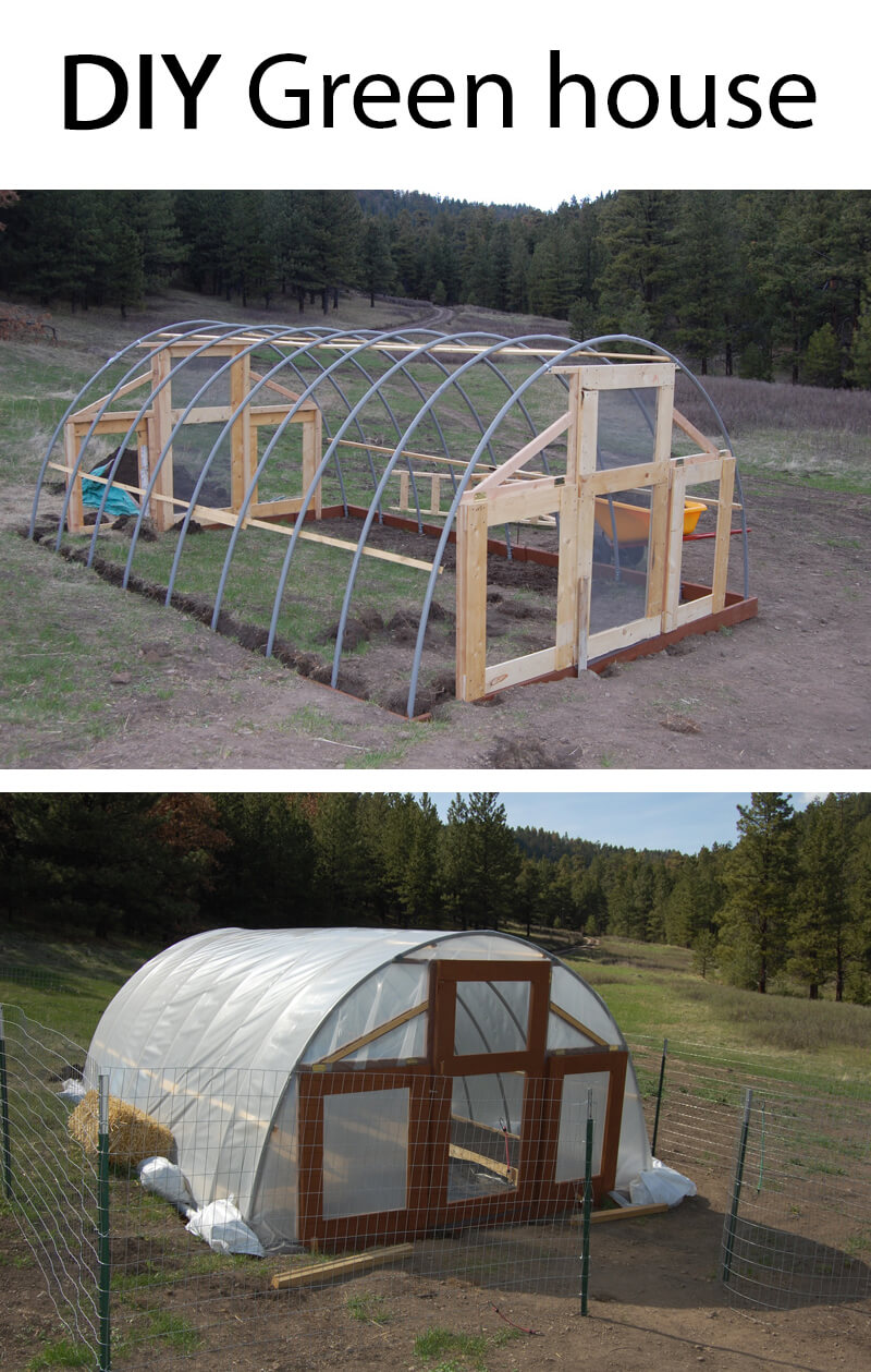 Large Green House Idea; Perfect for a Garden | Build a beautiful outdoor greenhouse | Creative Greenhouse DIY plans
