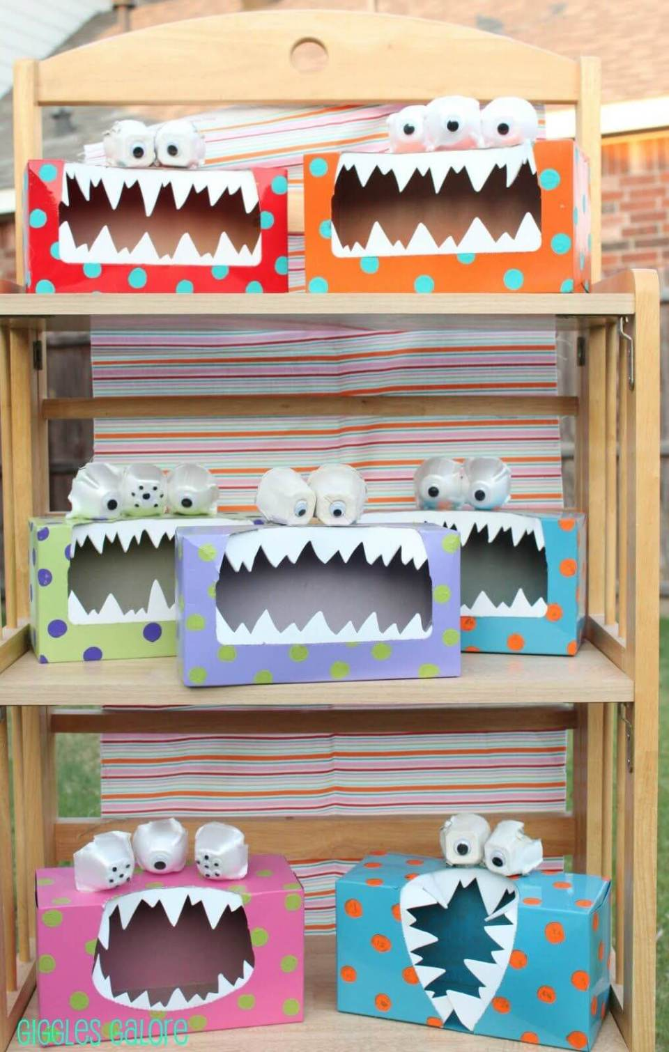 Ferocious Monster Tissue Boxes | Fun & Creative DIY Halloween Crafts for Kids
