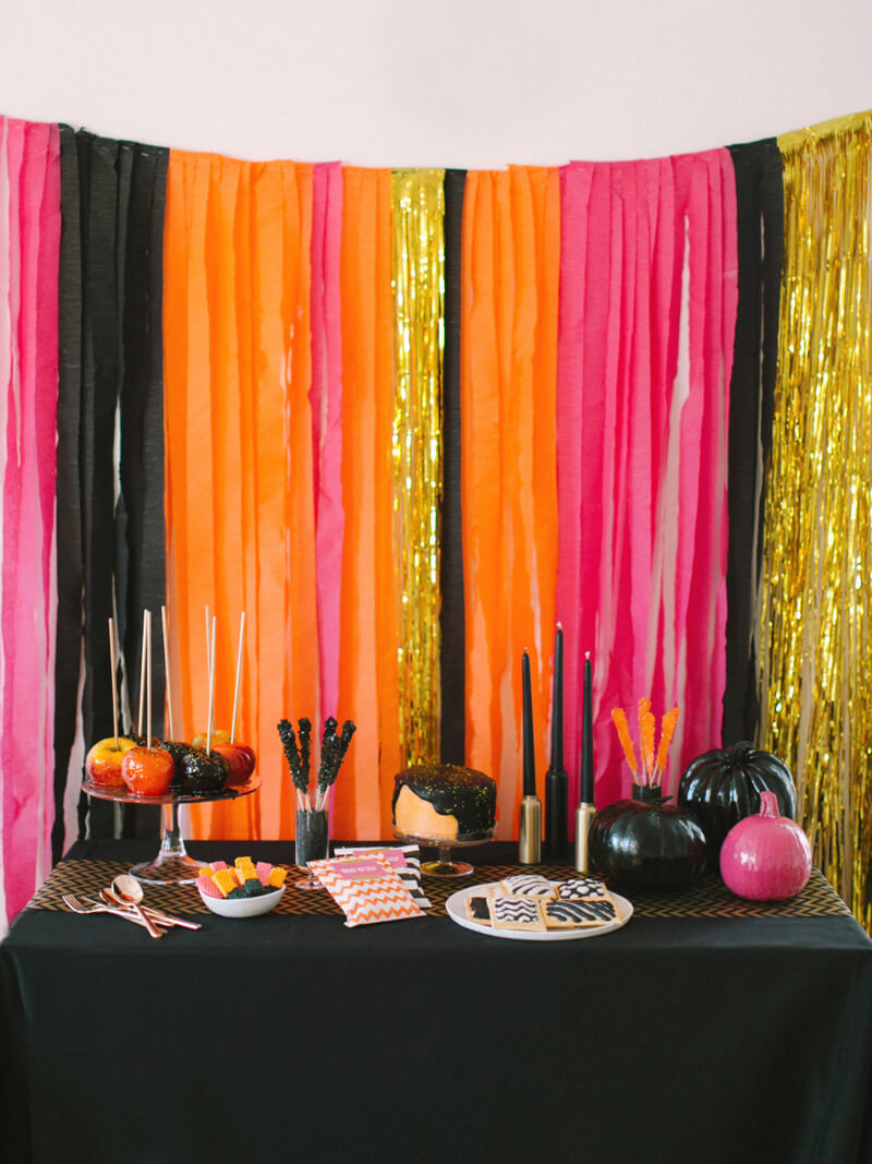 Glamorous Looks with Brilliant Colors | Awesome DIY Halloween Party Decor | BHG Halloween