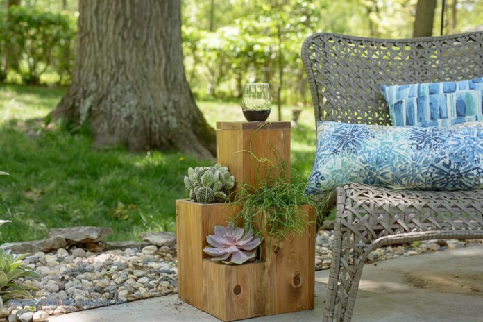 Tiered Planter and End Table