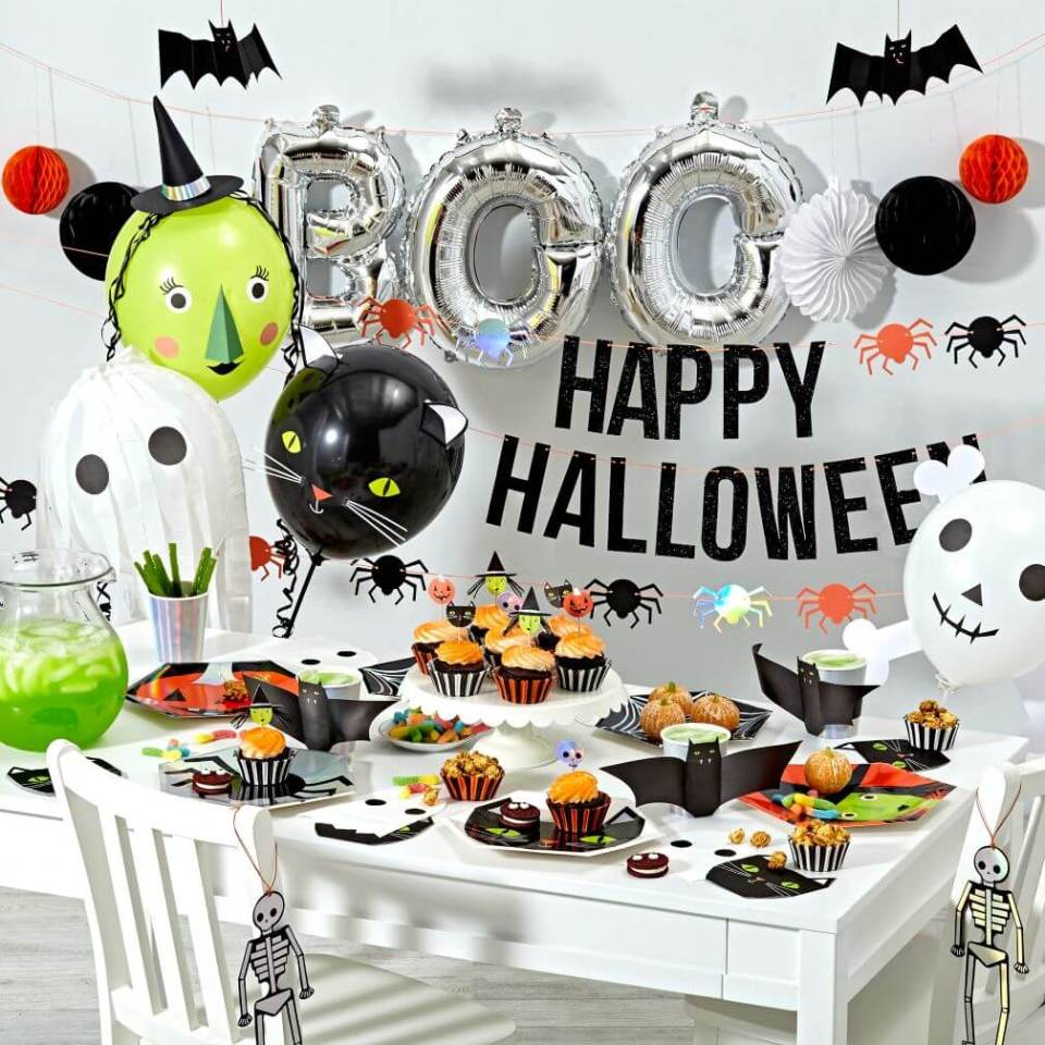 Welcome Halloween Revelers | Awesome DIY Halloween Party Decor | BHG Halloween