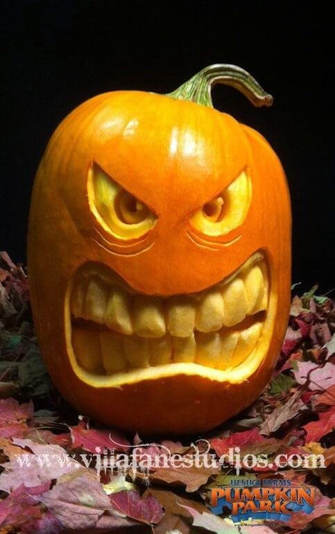 DIY Pumpkin Carving Ideas: Monster Mash