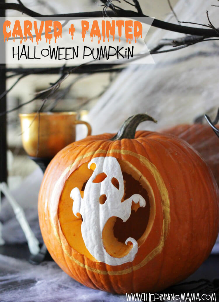 DIY Pumpkin Carving Ideas: Ghosts And Ghouls
