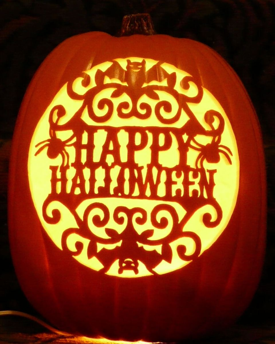 DIY Pumpkin Carving Ideas: Happy Halloween