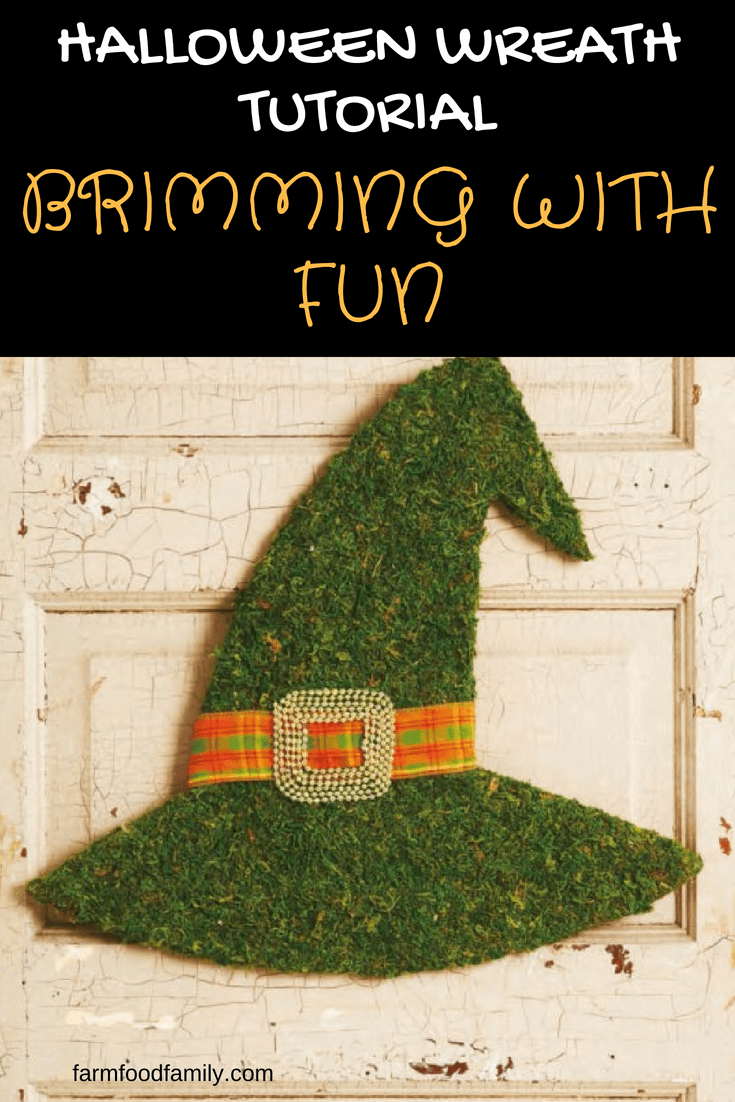 DIY Front Door Halloween Wreath: Brimming with fun