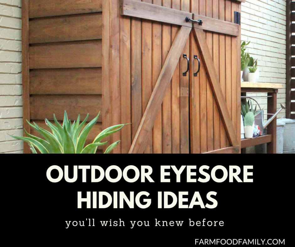 The Best Garden Ideas And Diy Yard Projects: 23+ Awesome DIY Outdoor Eyesore Hiding Ideas To Beautify
