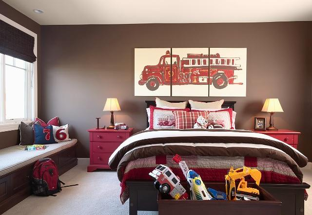 Fireman Theme Bedroom Ideas | How to Decorate a Fireman Theme Bedroom: Be a Hero by Designing a Firefighter Theme Nursery or Bedroom