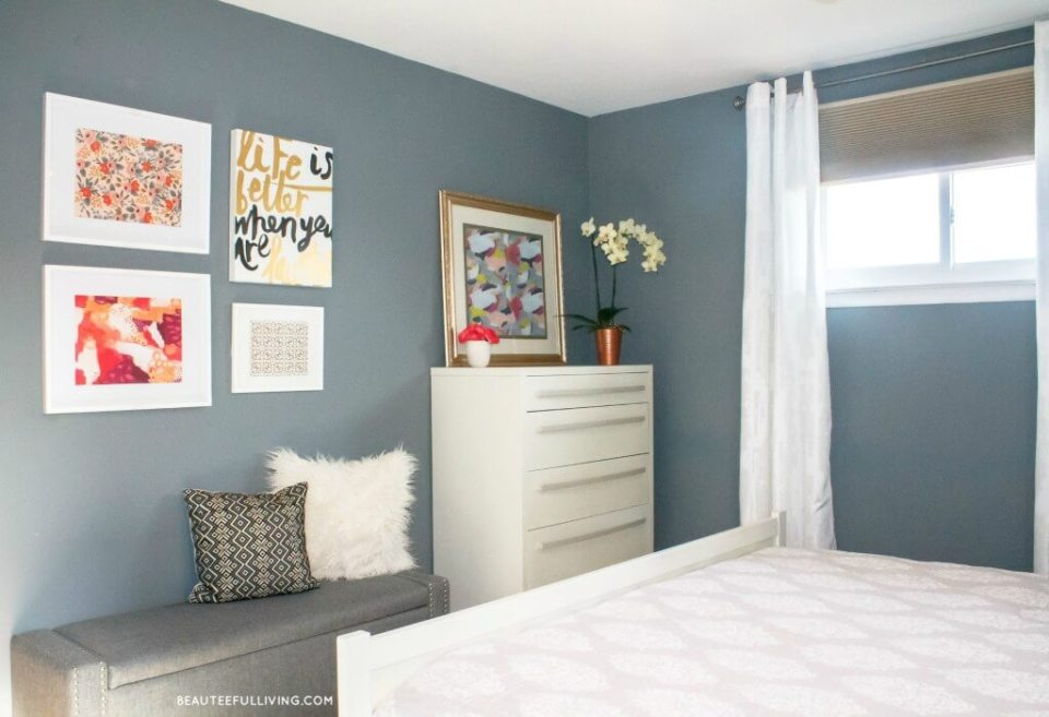 Modern Glam Master Bedroom Reveal