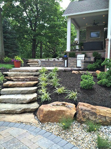 Natural Stone Steps | Creative Garden Step & Stair Ideas | FarmFoodFamily