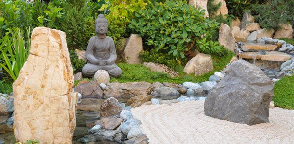 Japanese Garden With Zen Features | Zen Garden Designs & Ideas