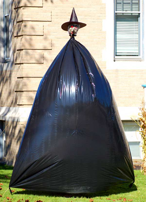 Trash bag Witch