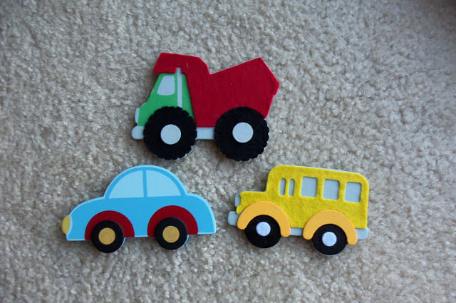 Magnetic cars | DIY Race Car Tracks for Kids - FarmFoodFamily