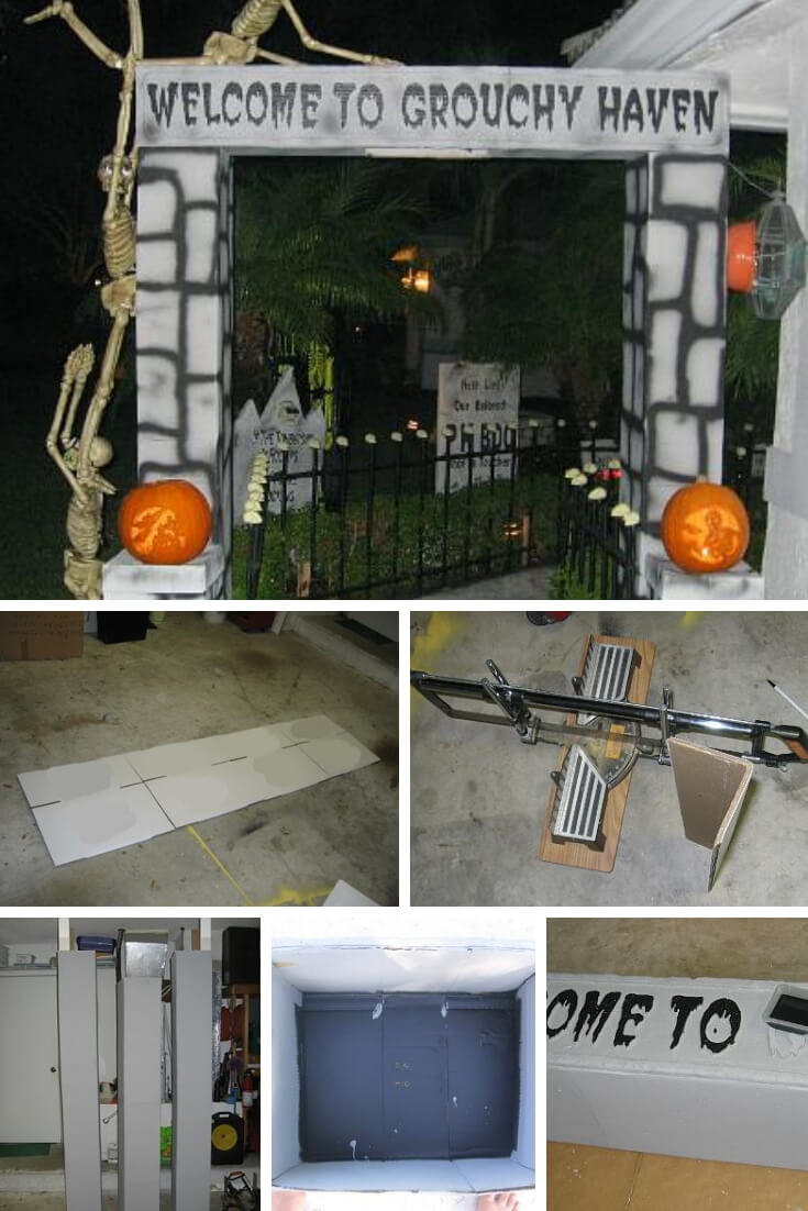 27 Spooky Halloween Entrance Ideas You Can Try 2019