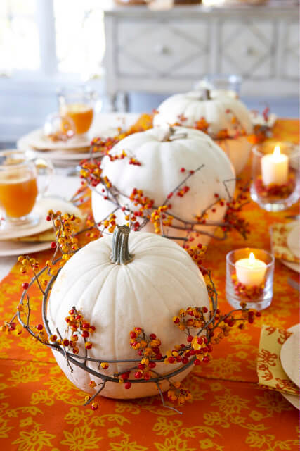 Bittersweet is Abundant | Best DIY Fall Centerpiece Ideas | FarmFoodFamily.com