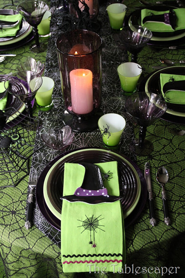 The Tablescaper | Fun & Spooky Halloween Table Decoration Ideas - FarmFoodFamily.com