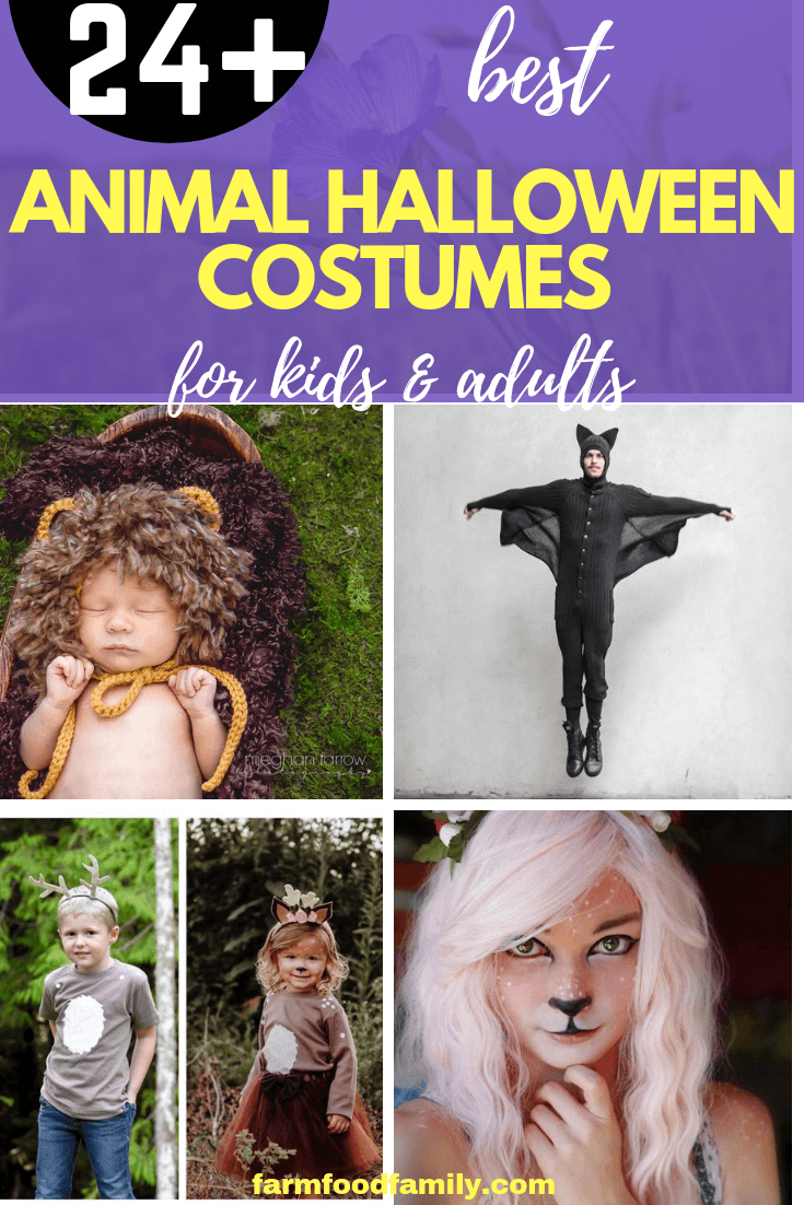Animal Halloween Costumes for Kids, Adults: The Best Halloween Outfits for Child and Adult Animal Lovers