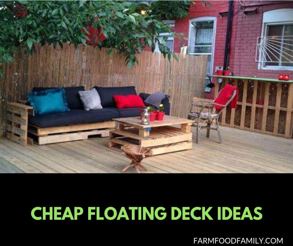 21 Easy and Inexpensive Floating Deck Ideas For Your Backyard on Simple Back Deck Ideas id=68271
