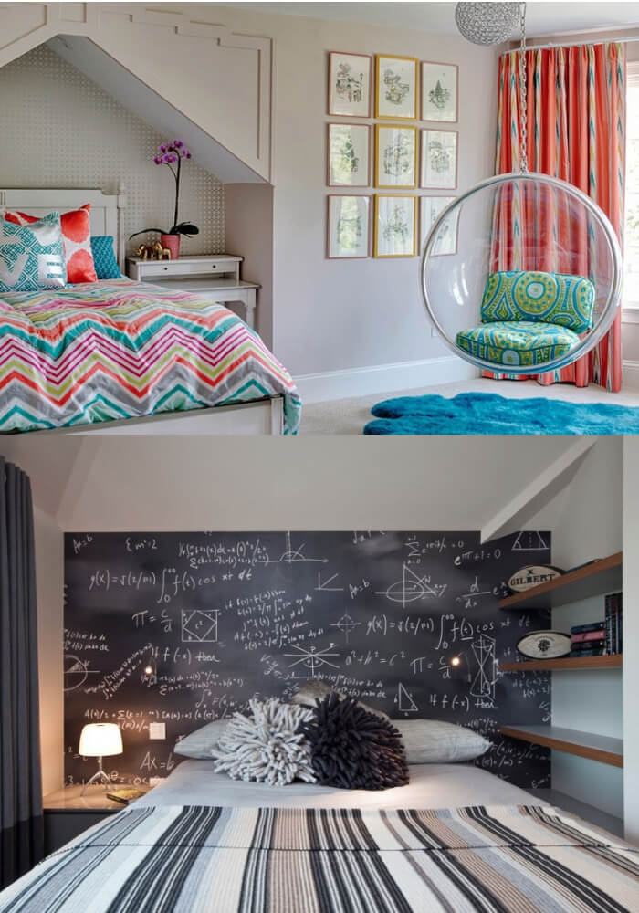 Fun Teen Bedroom Ideas | Decorating Teen Bedrooms: Transforming a Child's Room with Teenage Décor - FarmFoodFamily.com