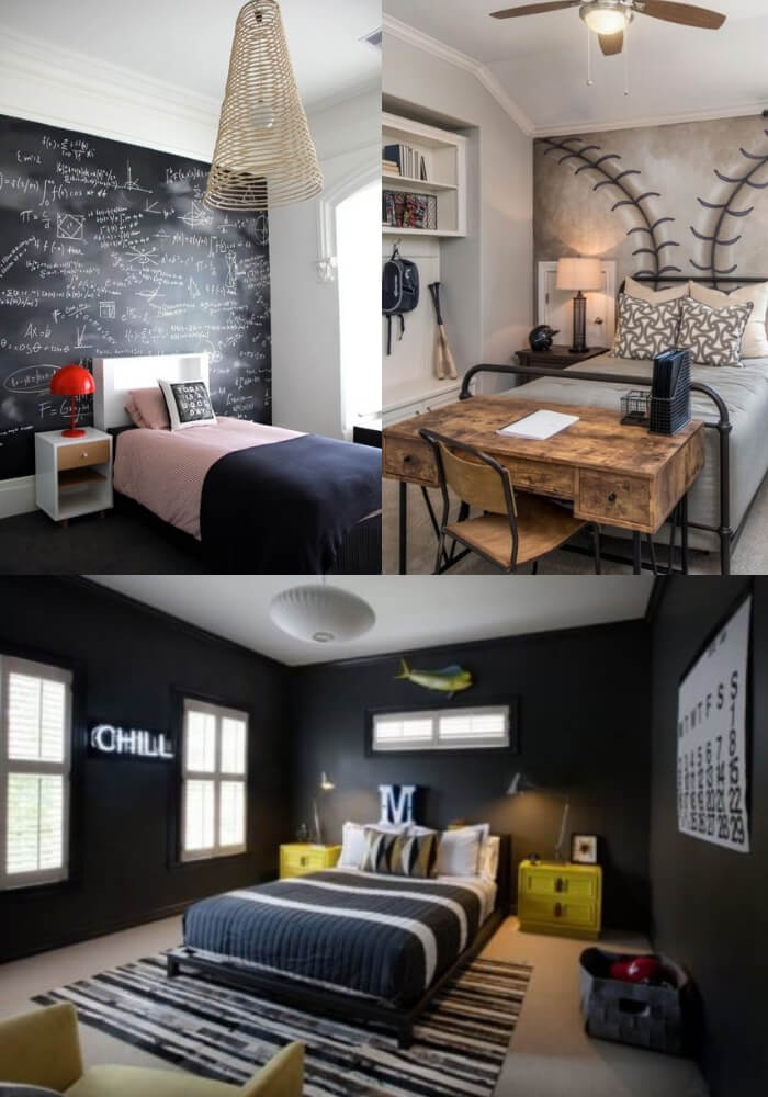 Modern and Stylish Teen Boys Rooms | Decorating Teen Bedrooms: Transforming a Child's Room with Teenage Décor - FarmFoodFamily.com