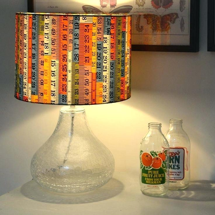 Cloth lamp shades | Homemade Decorative Lamp Shade Ideas | FarmFoodFamily