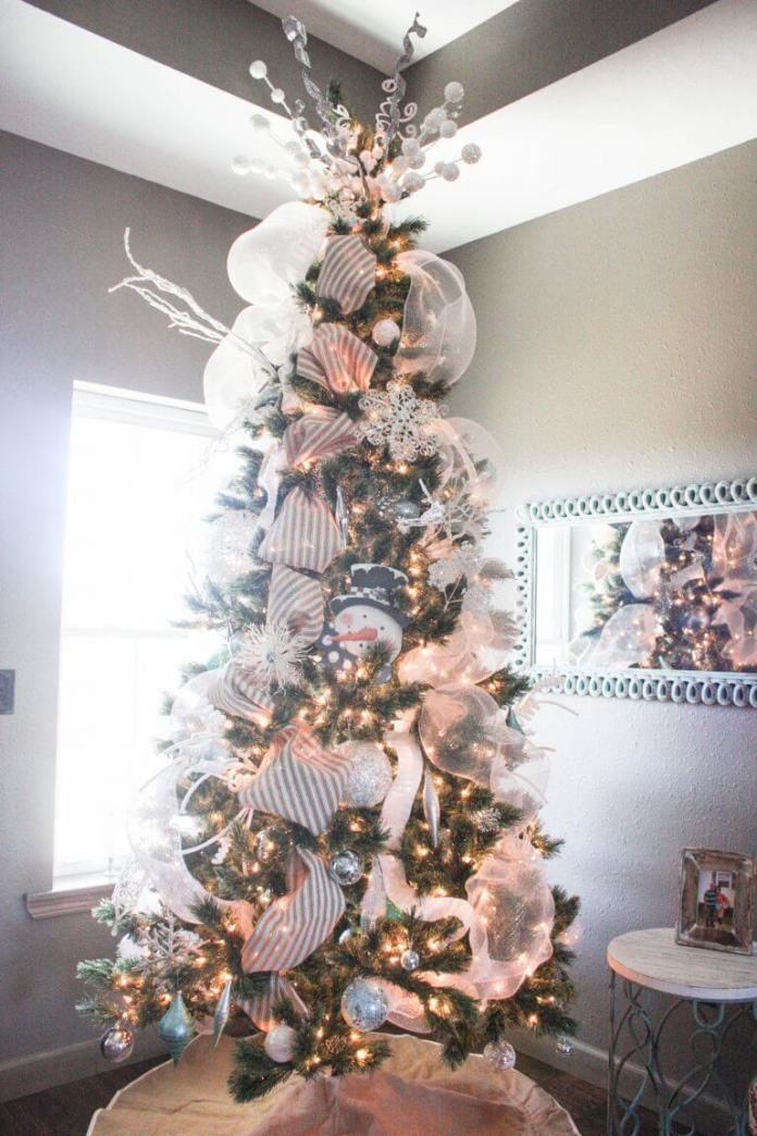 How to Decorate a Christmas Tree from Start to Finish | Best Way to Decorate Christmas Trees on a Budget: Inexpensive or Free & Easy Holiday Ornaments & Decorations