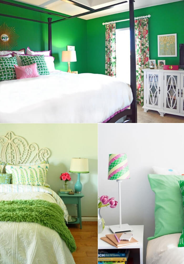 Green whit envy | Decorating Teen Bedrooms: Transforming a Child's Room with Teenage Décor - FarmFoodFamily.com